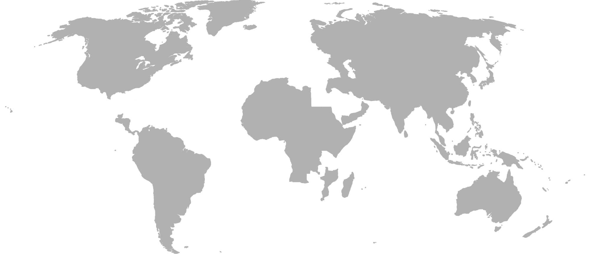 Map showing the location of Nutickets software resellers across 3 continents