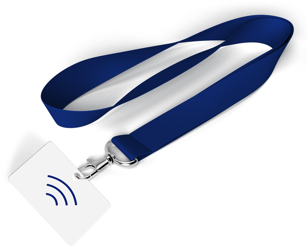RFID lanyard for corporate events