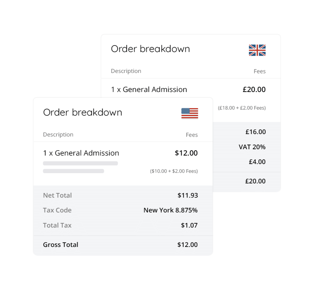 automate the delivery of sales tax receipts to your customers